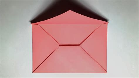How To Make Envelopes Out Of Paper - paper envelope how to make a paper envelope without glue