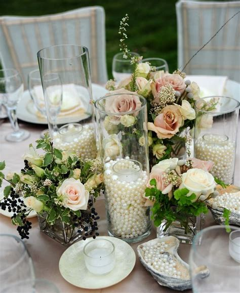 pearl wedding centerpieces best 25 pearl wedding centerpieces ideas on