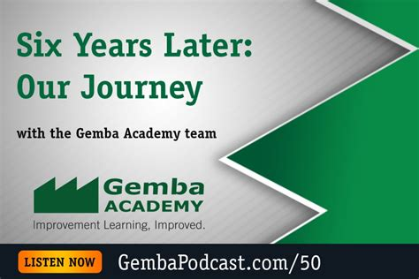 kevin meyer gemba academy ga 050 six years later our journey gemba academy
