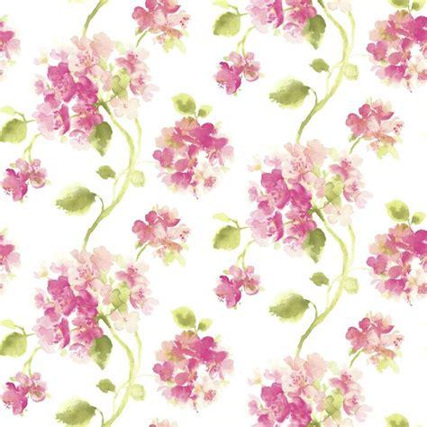 wallpaper floral aquarelle pink floral wallpaper patterns prints