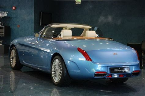 the unique convertible rolls royce hyperion put up for