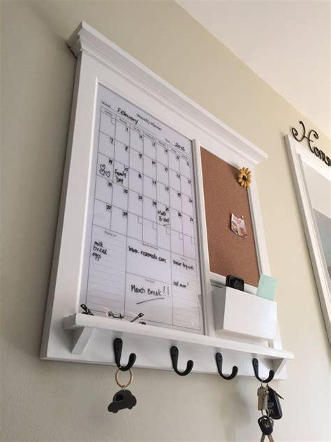 framed kitchen  office dry erase white calendar