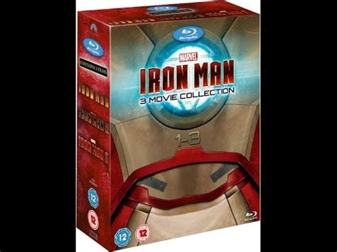 iron man complete collection blu ray unboxing
