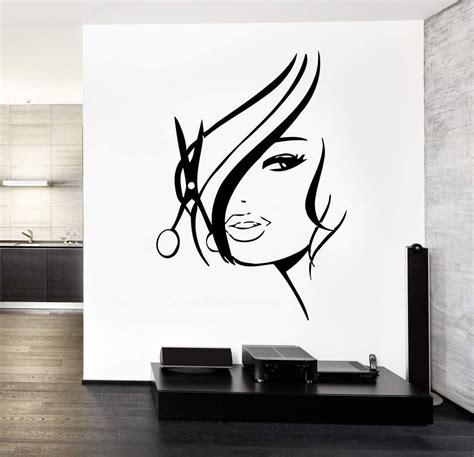 Black Hair Salon Wall