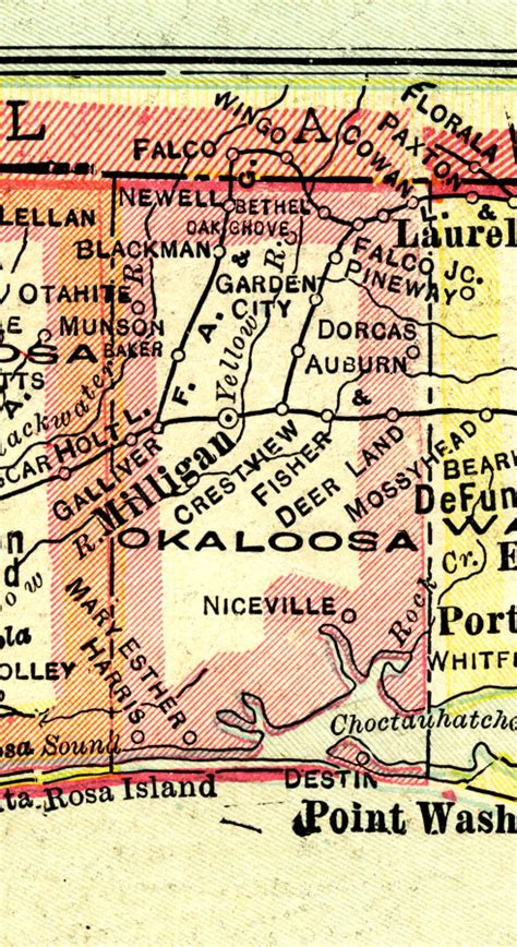 Okaloosa County Search Okaloosa County 1916
