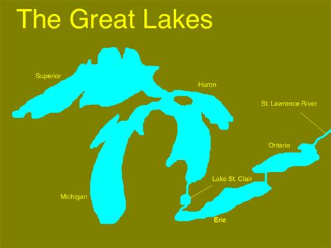 the great lakes map pin great lakes national program office image collection on