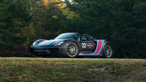 martini porsche 918 porsche 918 spyder weissach package martini racing 4k 2