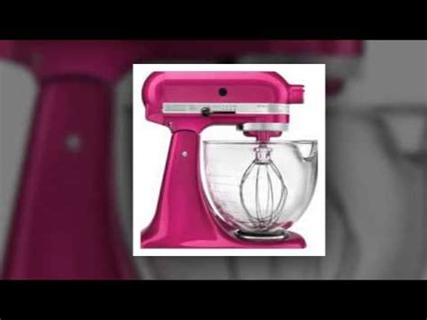 Kitchenaid Mixer Colors Most Popular   YouTube