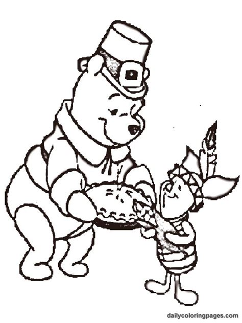 thanksgiving coloring pages for kindergarten 54 best winnie the pooh thanksgiving images on pinterest