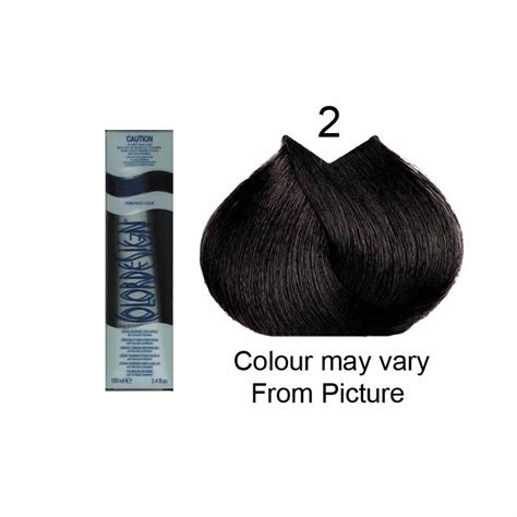 color design hair color color design 2 darkest brown 100ml hair and