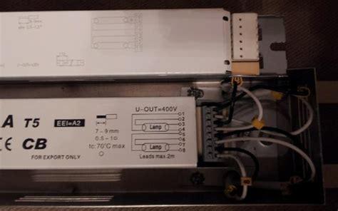 wiring   ballast doityourselfcom