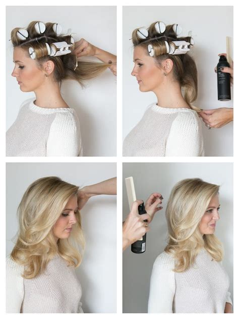 rolling hair styles 25 best ideas about hot roller tips on pinterest best