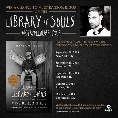 peculiar ground a novel books ya book library of souls staypeculiar tour