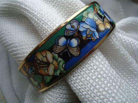 Michaela Frey   24 kt gold plated wide bangle / bracelet   vintage   Catawiki