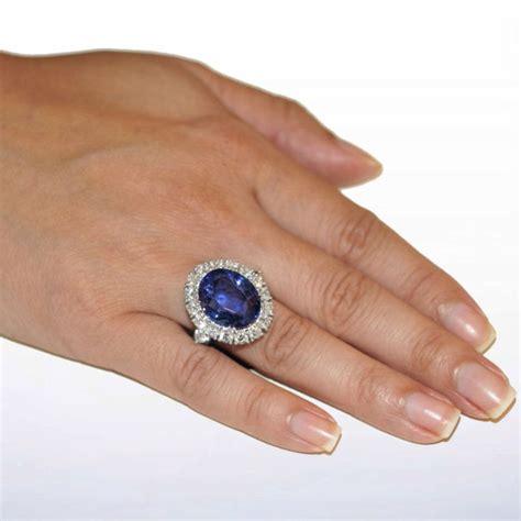 one of a royal unheated ceylon sapphire