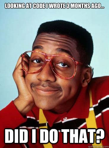 Family Matters Memes - steve urkel did i do that meme