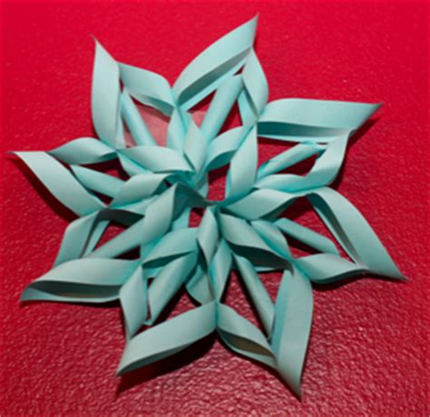Make Snowflakes Out Of Paper - 12 easy 3d paper snowflake patterns guide patterns