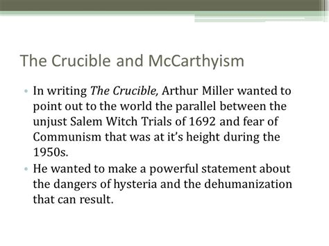 the crucible themes mass hysteria fear and mass hysteria in the crucible and arthur miller