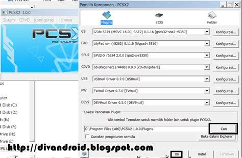 pcsx2 emulator for android emulator ps2 pcsx2 v 1 2 for android pc komputer bios plugins