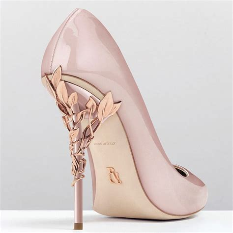 Blush Pink Bridal Shoes by Exquisite Bridal Shoes Clutches From Ralph Russo