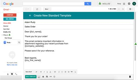 standard email template gse bookbinder co
