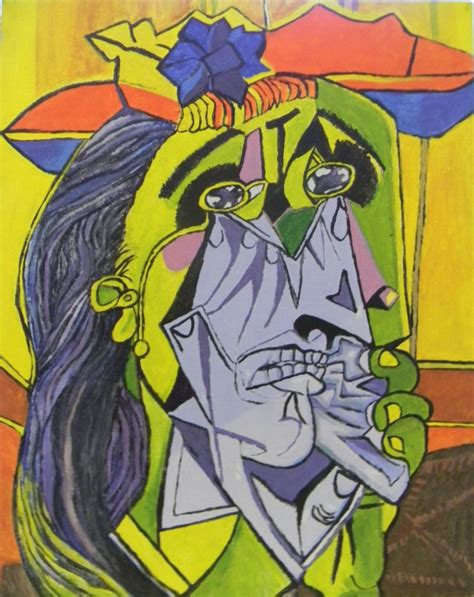 picasso paintings weeping weeping picasso by lilrich731 on deviantart
