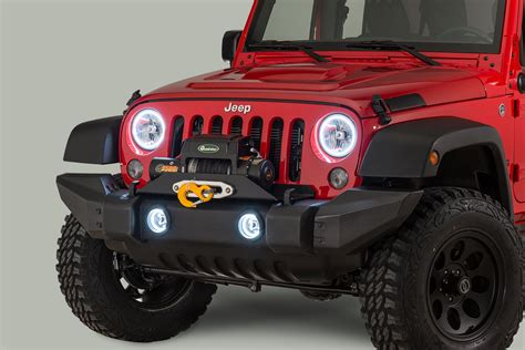 oracle lighting headlight kit with halo rings for 07 17