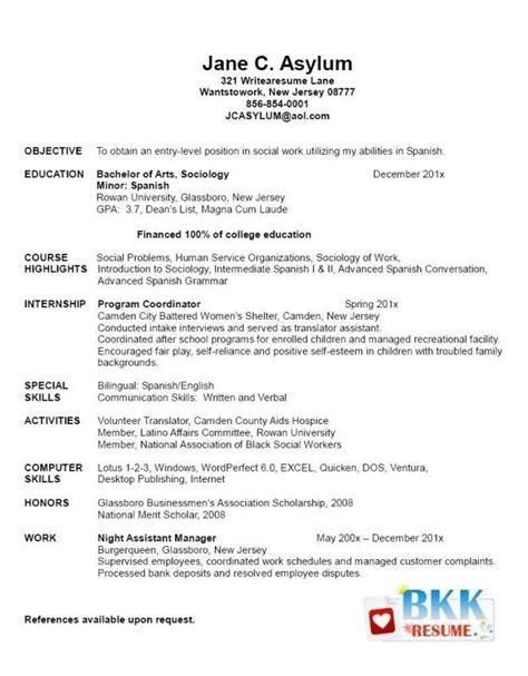 graduate school application resume sle best resume