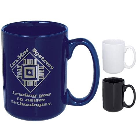 Customized 15 oz. El Grande Ceramic Mug   Promotional