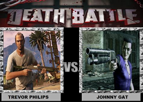 Gat Meme - death battle trevor philips vs johnny gat by brasc on