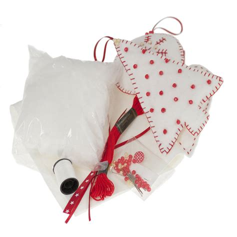 christmas decoration sewing kit by clara