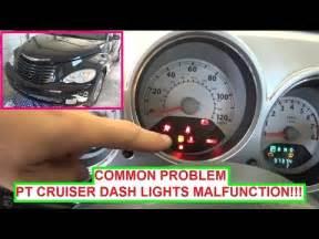 Chrysler Dashboard Lights Chrysler Pt Cruiser Dash Lights Instrument Cluster Lights