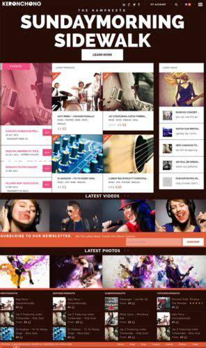 free wordpress themes music store music band and music store wordpress theme keronchong