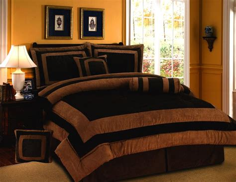 brown bedding sets brown orange bed comforters home garden gt bedding