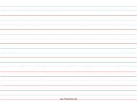 Printable Lined Paper Year 3 | printable 3 4 rule 3 8 dotted 3 8 skip handwriting paper