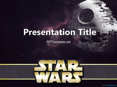 wars powerpoint template free batman ppt template