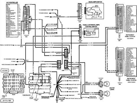 chevy 350 wiring diagram wiring diagram 1994 chevrolet 350 wiring diagram and