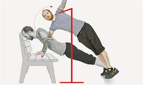park bench exercises the park bench workout five simple exercises life and style the guardian