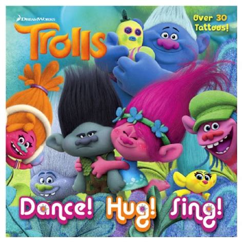branch s bunker birthday dreamworks trolls golden book books hug sing dreamworks trolls paperback by