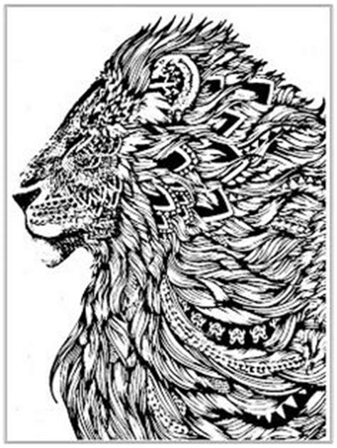 lion zentangle color me zoo pinterest lions adult 1000 images about coloring pages on pinterest coloring