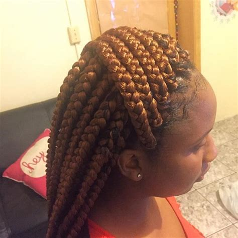 Big Braids Hairstyle by Pictures Of Really Big Box Braids Hairstyle 25 Best