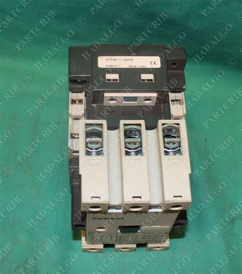 Siemens Contactor 3tf46 22 Oxdo siemens 3tf46 11 0ap6 contactor starter relay new