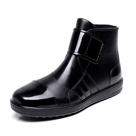 aliexpress buy pvc waterproof boots waterproof flat with shoes