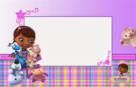 doc mcstuffins birthday card template doc mcstuffins free printable invitations cards or photo