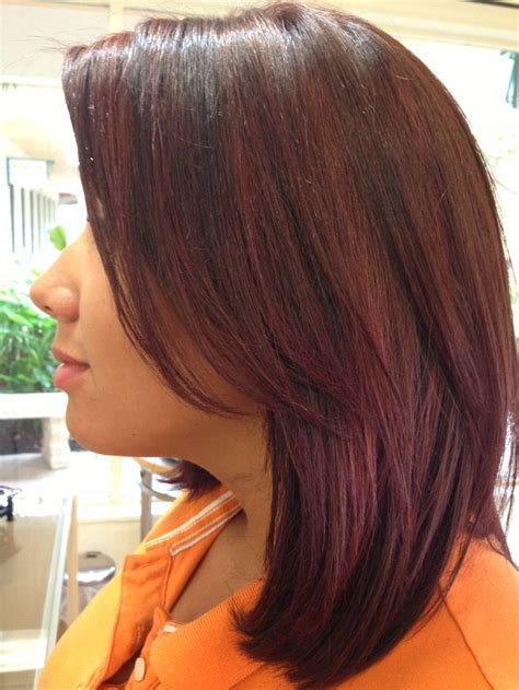 cherry coke hair color best 25 cherry coke hair ideas on