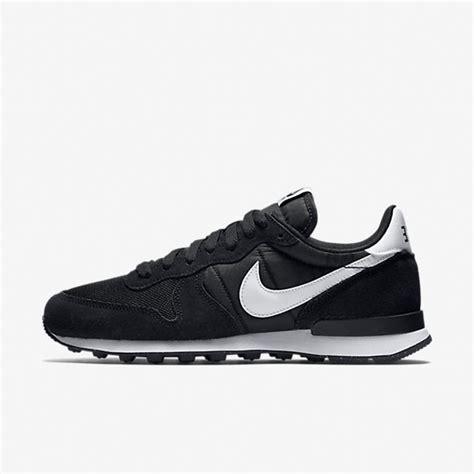 jual sepatu sneakers nike internationalist black white