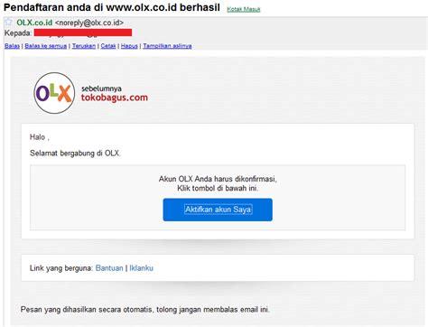 cara membuat iklan di olx cara mendaftar dan membuat akun di olx co id tokobagus