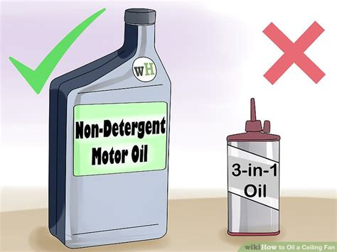 best lubricant for electric fan motor how to a ceiling fan with pictures wikihow