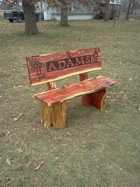 cedar  bench woodworking projects cedar furniture