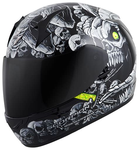 scorpion motocross helmets scorpion exo r410 dr sin helmet revzilla